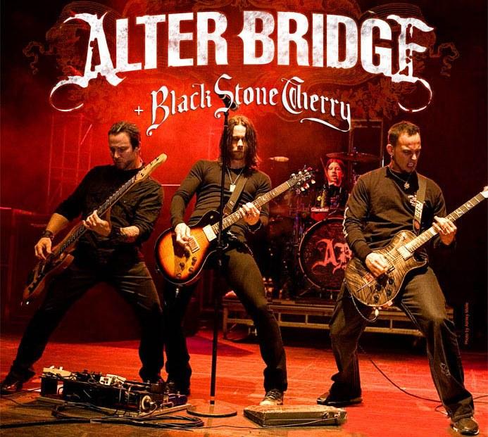 Alter Bridge + Black Stone Cherry @ Zénith, Paris 04.11.2011