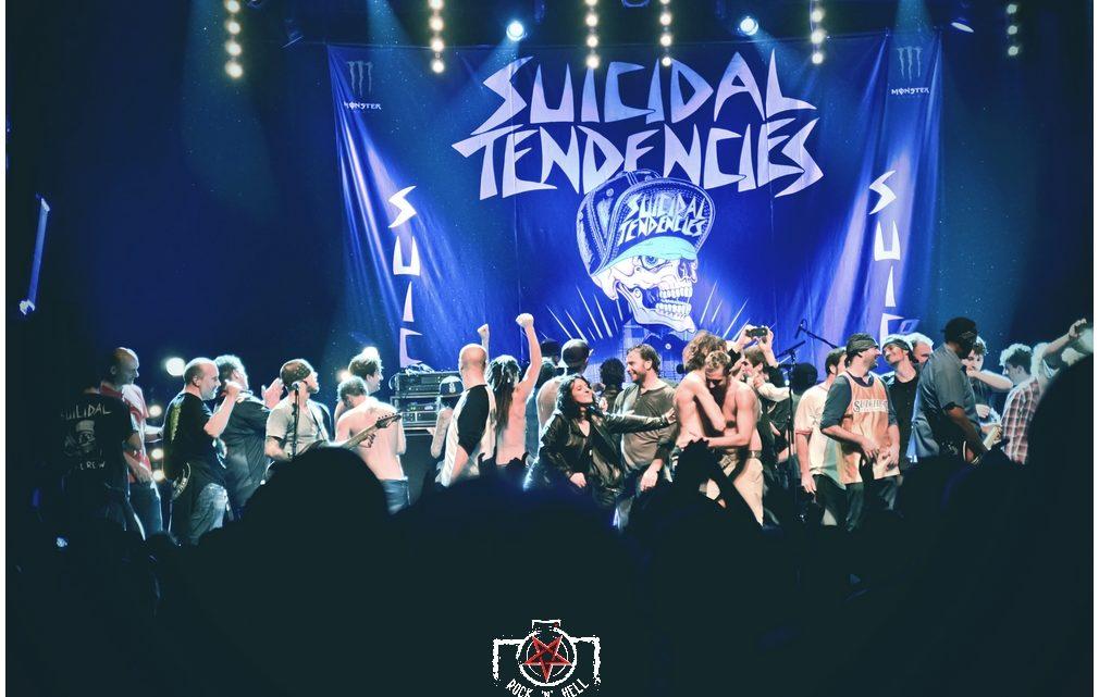 Suicidal Tendencies @ La Sirène, La Rochelle 19.10.2013