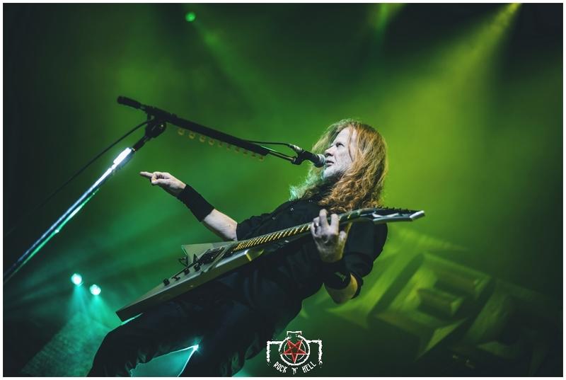 Megadeth @ Le Zenith, Paris 28.01.20
