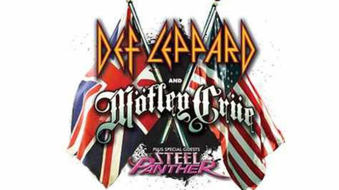 Def Leppard + Motley Crue + Steel Panther, Wembley Arena, Londres 14.12.2011